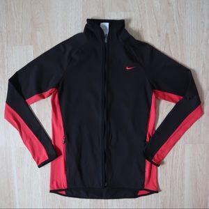Nike Black full zip up workout jacket